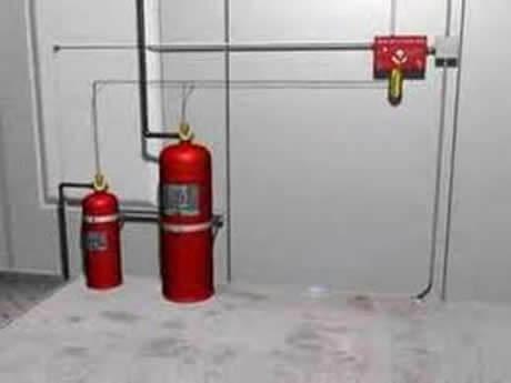 basic fire safety system